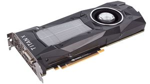 Picture of NVIDIA 900-1G611-2500-000 GeForce Titan X (Pascal) 12GB 384-Bit GDDR5X PCI Express 3.0 HDCP Ready SLI Support Video Card