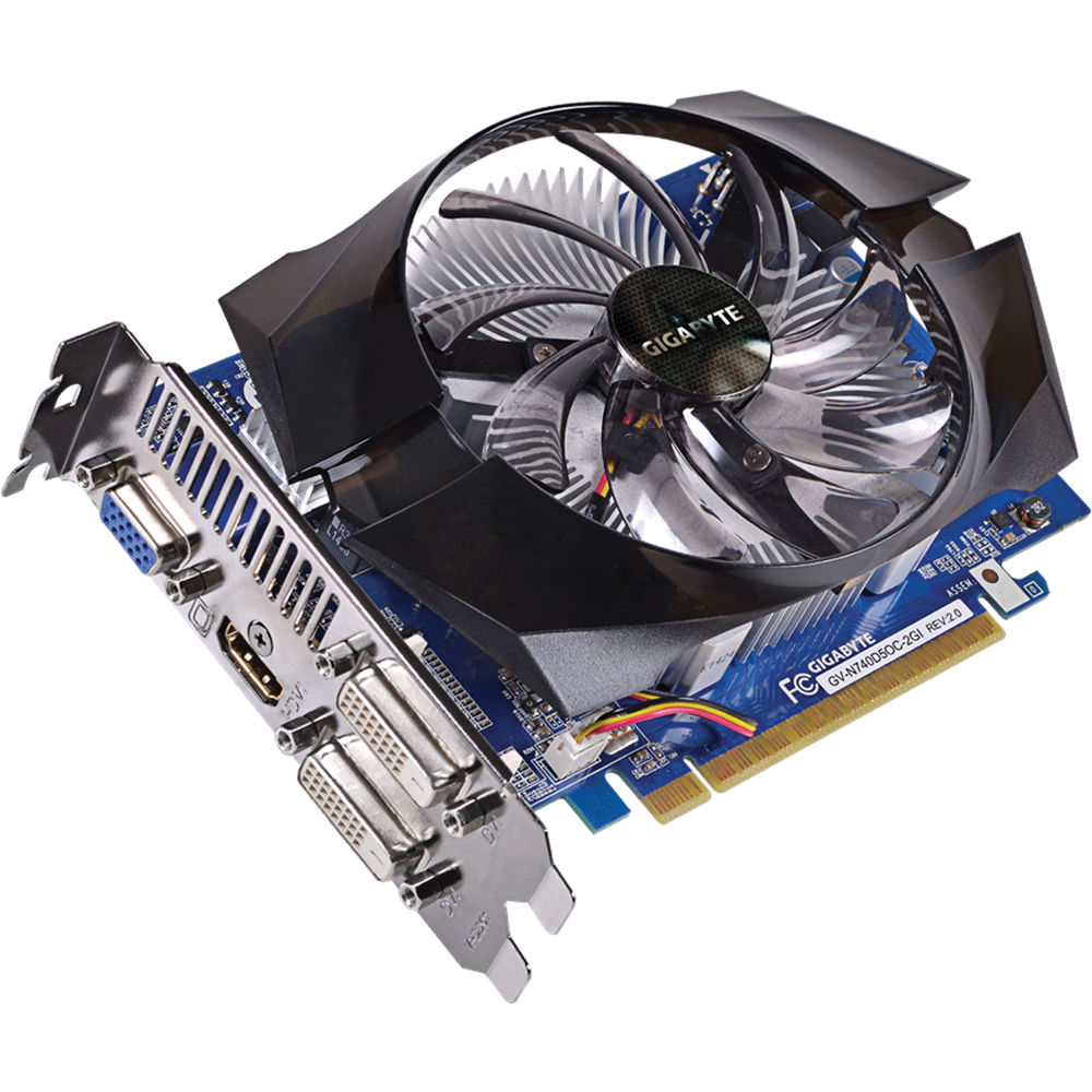 GIGABYTE GV-N740D5OC-2GI REV3 GeForce GT 740 2GB 128-Bit GDDR5 PCI Express 3.0 HDCP Ready Video Card