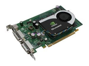 Picture of NVIDIA P588 Quadro FX 1700 512MB 128-bit GDDR2 PCI Express x16 Workstation Video Card