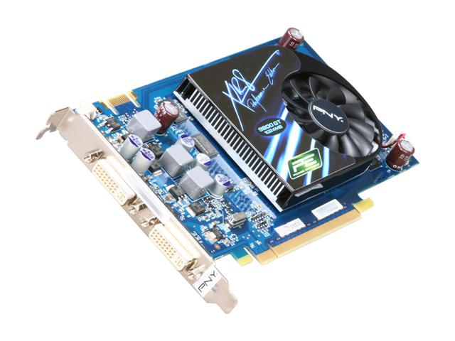PNY VCG98GTEE1XPB GeForce 9800 GT 1GB 256-bit DDR3 PCI Express 2.0 x16 HDCP Ready SLI Support Video Card