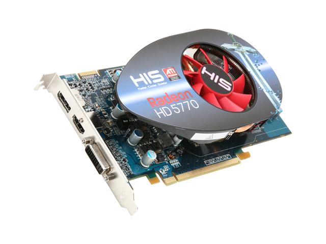 VGAStore.com. HIS H577FM1GD Radeon HD 5770 1GB 128-bit