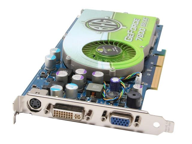 BFG BFGR78256GSOC GeForce 7800GS 256MB 256-bit GDDR3 AGP 4X/8X Video Card