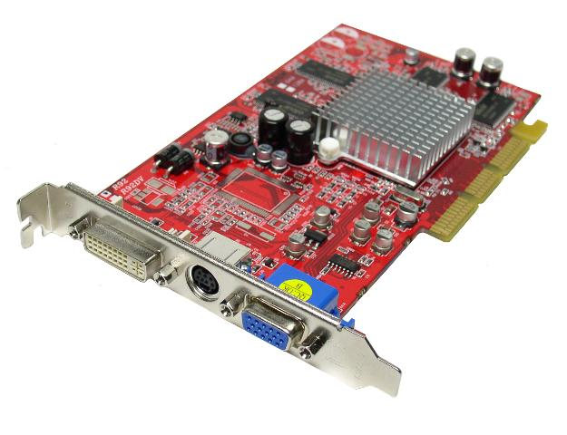 Picture Of POWERCOLOR R92ND3 Radeon 9200 256MB DDR AGP 4X 8X Video Card