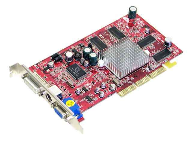 Picture Of POWERCOLOR R92DV C3L Radeon 9200 128MB DDR AGP 4X 8X Video Card