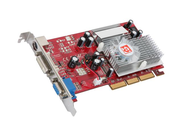 DIAMOND X1050AGP256SB Stealth Radeon X1050 256MB 128-bit DDR AGP 4X/8X Video Card