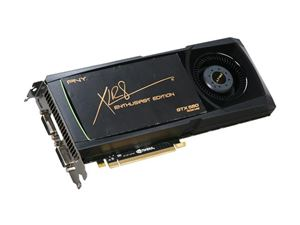 Picture of PNY VCGGTX580XPB GeForce GTX 580 (Fermi) 1536MB 384-bit GDDR5 PCI Express 2.0 x16 HDCP Ready SLI Support Video Card