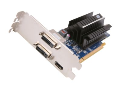 SAPPHIRE 100322FLEX FleX Radeon HD 6450 1GB 64-bit DDR3 PCI Express 2.1 x16 HDCP Ready Low Profile Ready Video Card