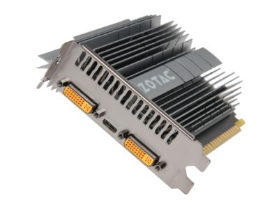 ZOTAC ZT6060320L ZONE Edition  GeForce GT 610 1GB 64-bit DDR3 PCI Express 2.0 x16 HDCP Ready Video Card
