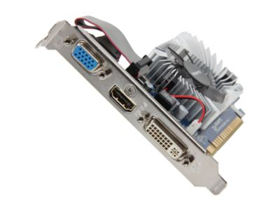 GIGABYTE GV-N620D3-1GL GeForce GT 620 1GB 64-bit DDR3 PCI Express 2.0 x16 HDCP Ready Low Profile Video Card