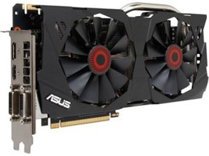 Picture of ASUS STRIX-GTX970-DC2OC-4GD5 GeForce GTX 970 4GB 256-Bit GDDR5 PCI Express 3.0 SLI Support G-SYNC Support Video Card