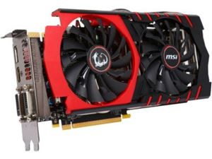 Picture of MSI GTX 970 GAMING 4G GeForce GTX 970 4GB 256-Bit GDDR5 HDCP Ready SLI Support G-SYNC Support Video Card