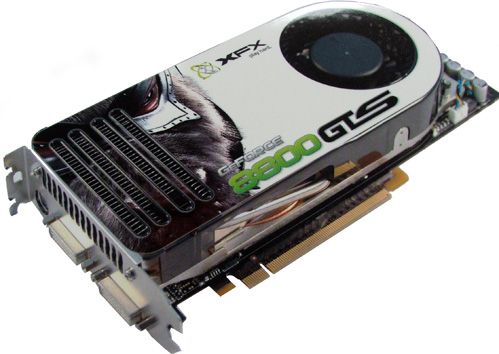 Picture Of XFX PV T80G TDE4 GeForce 8800 GTS 640MB GDDR3 PCI Express X16 HDCP