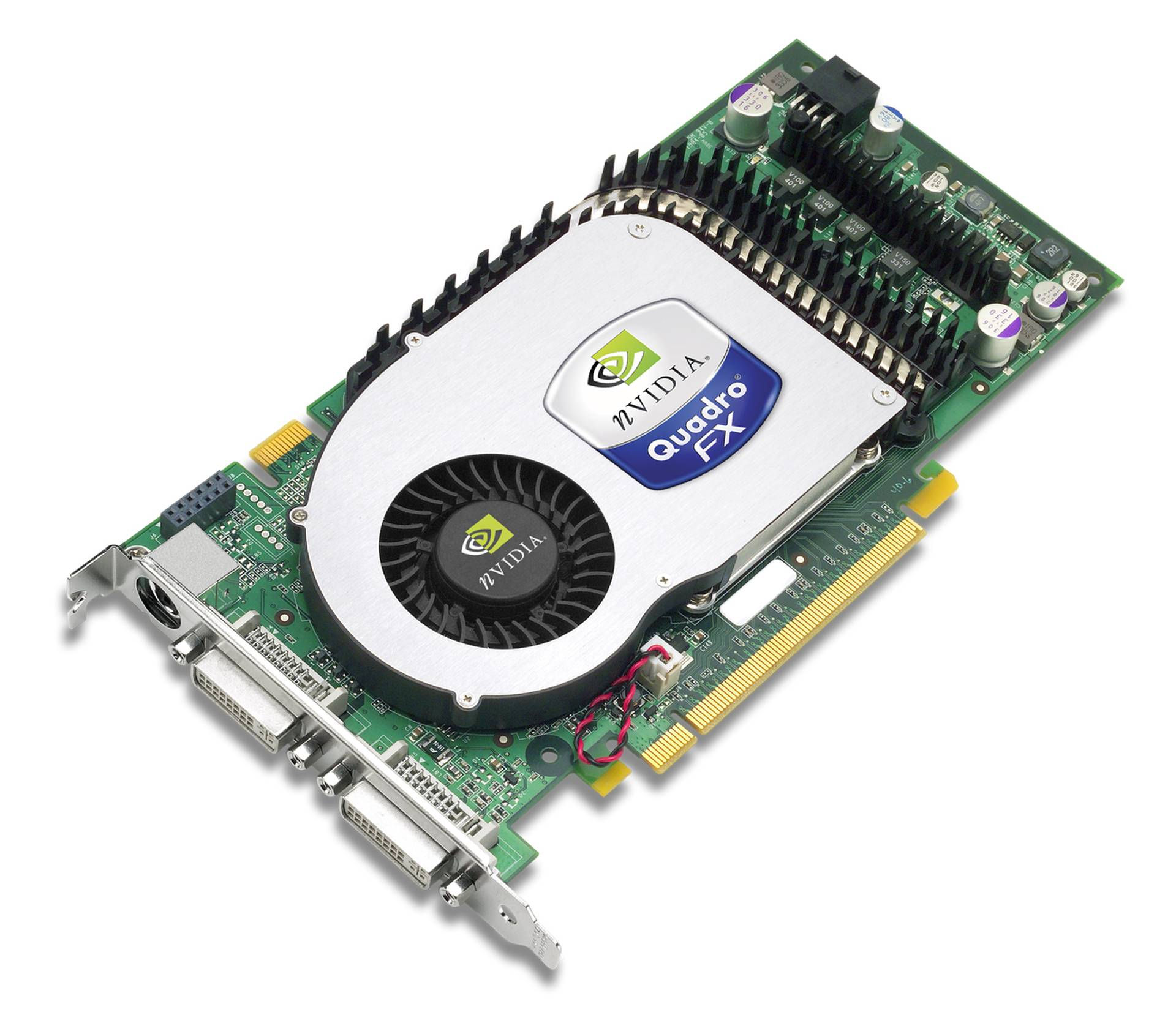 NVIDIA FX3400 Quadro FX 3400 256MB 256-bit GDDR3 PCI Express x16 Workstation Video Card