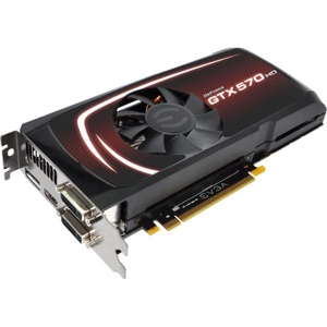 EVGA 025-P3-1579-B1 GeForce GTX 570 (Fermi) HD 2560MB 320-bit GDDR5 PCI Express 2.0 x16 HDCP Ready SLI Support Video Card