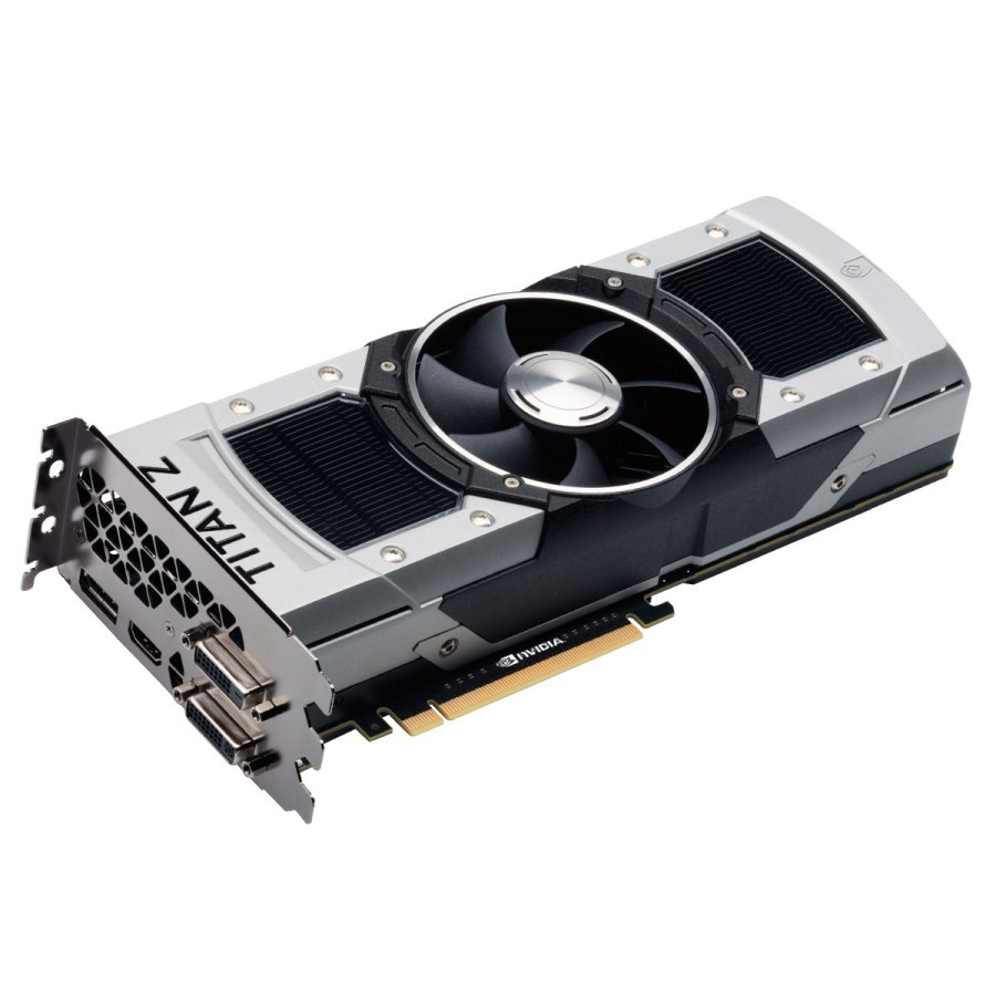 EVGA 12G-P4-3990-KR GeForce GTX TITAN Z 12GB 768-Bit GDDR5 PCI Express 3.0 SLI Support Video Card
