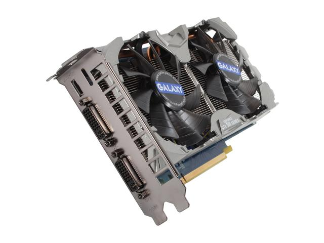 GALAXY 56NPH6HS4IXX GeForce GTX 560 (Fermi) 2GB 256-bit GDDR5 PCI Express 2.0 x16 HDCP Ready SLI Support Video Card
