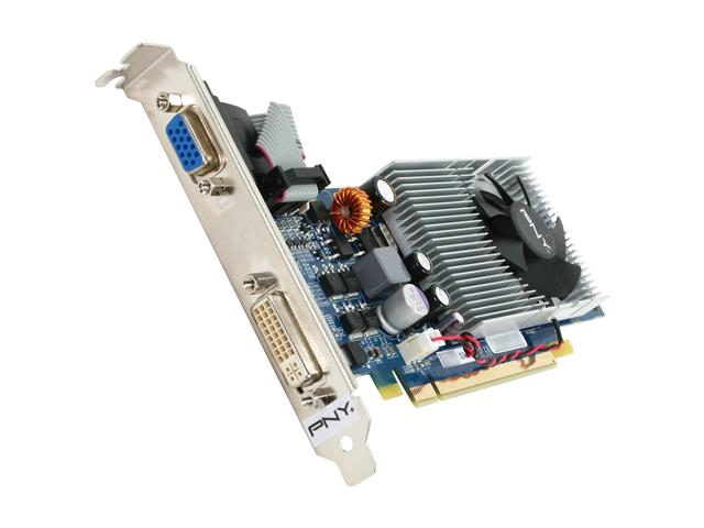 PNY VCG941024GXPB GeForce 9400 GT 1GB 128-bit DDR2 PCI Express 2.0 x16 HDCP Ready Low Profile Video Card