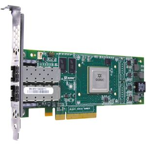 Picture of ORACLE SG-XPCIEFCOE2-Q-SR QLE8142 Dual Port 10Gbps Enhanced Ethernet to PCIe Converged Network Adapter