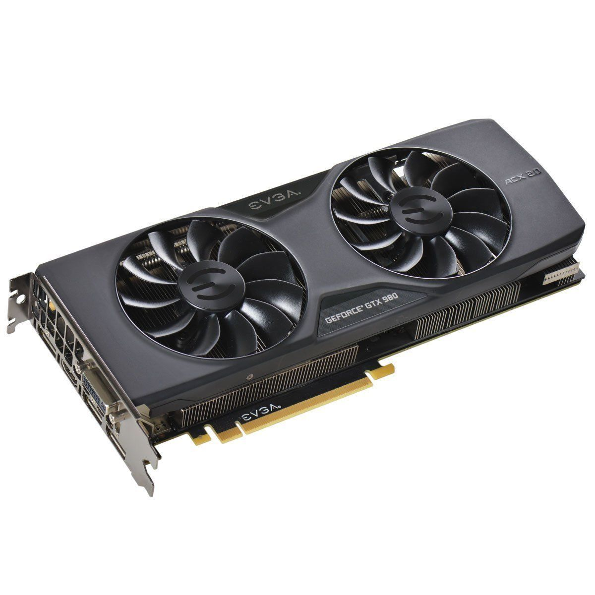 EVGA 04GP42983KR GeForce GTX 980 Superclocked 4GB GDDR5 PCI-E Graphics Card