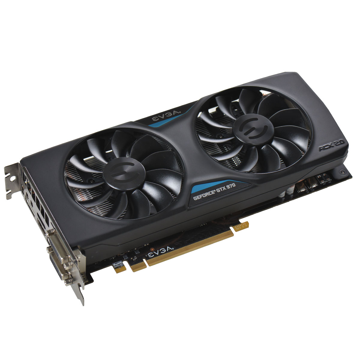 EVGA 04G-P4-2974 KR GeForce GTX 970 4GB 256-Bit GDDR5 PCI Express 3.0 SLI Support Video Card