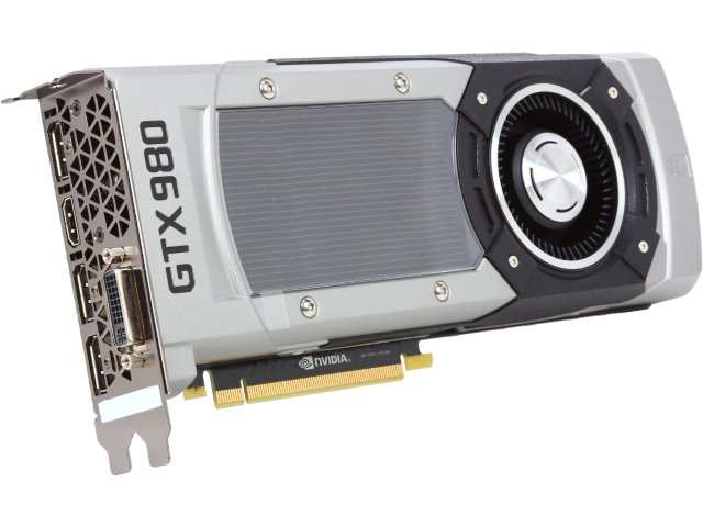 PNY VCGGTX9804XPB-CG GeForce GTX 980 4GB  GDDR5 PCI Express 3.0 Video Card