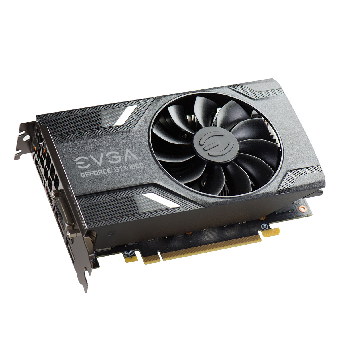 EVGA 06G-P4-6163-KR GeForce GTX 1060 SC GAMING ACX 2.0 (Single Fan) 6GB GDDR5 DX12 OSD Support (PXOC) Video Card