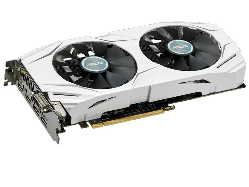 ASUS DUAL-GTX1060-O6G GeForce GTX 1060 6GB 192-Bit GDDR5 PCI Express 3.0 HDCP Ready Video Card