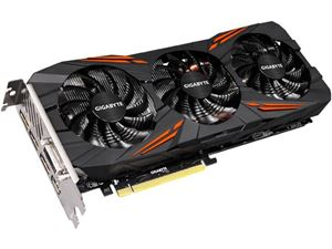Picture of GIGABYTE GV-N1070G1 GAMING-8GD GeForce GTX 1070 8GB 256-Bit GDDR5 PCI Express 3.0 x16 SLI Support ATX Video Card