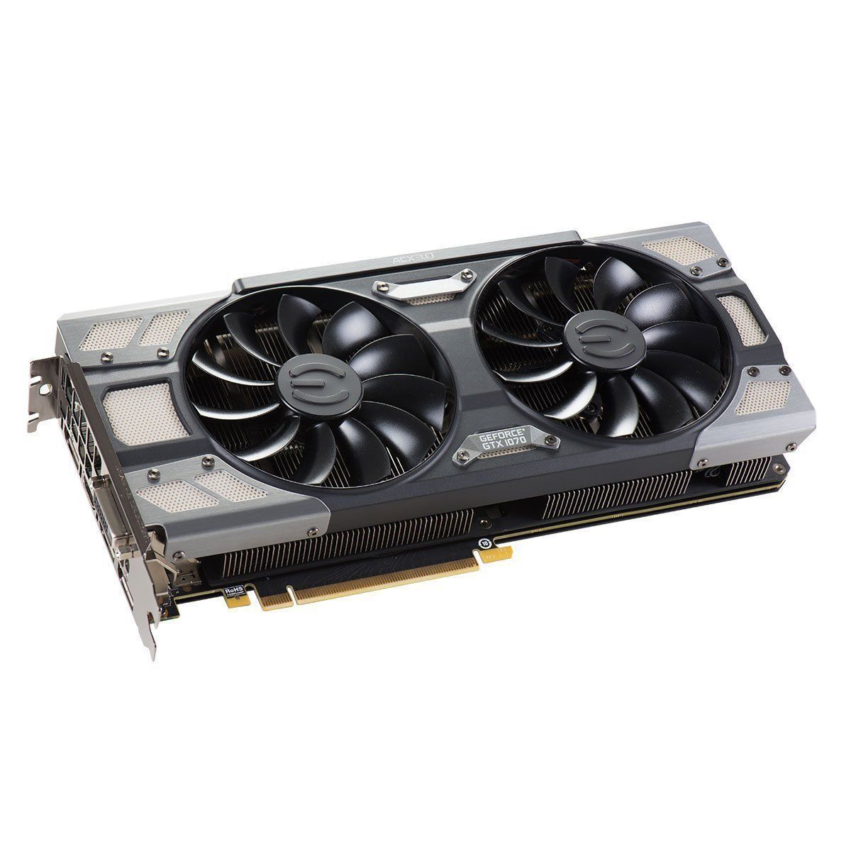 EVGA 08G-P4-5173-KR GeForce GTX 1070 SC GAMING ACX 3.0 Black Edition 8GB GDDR5 LED DX12 OSD Support (PXOC) Video Card