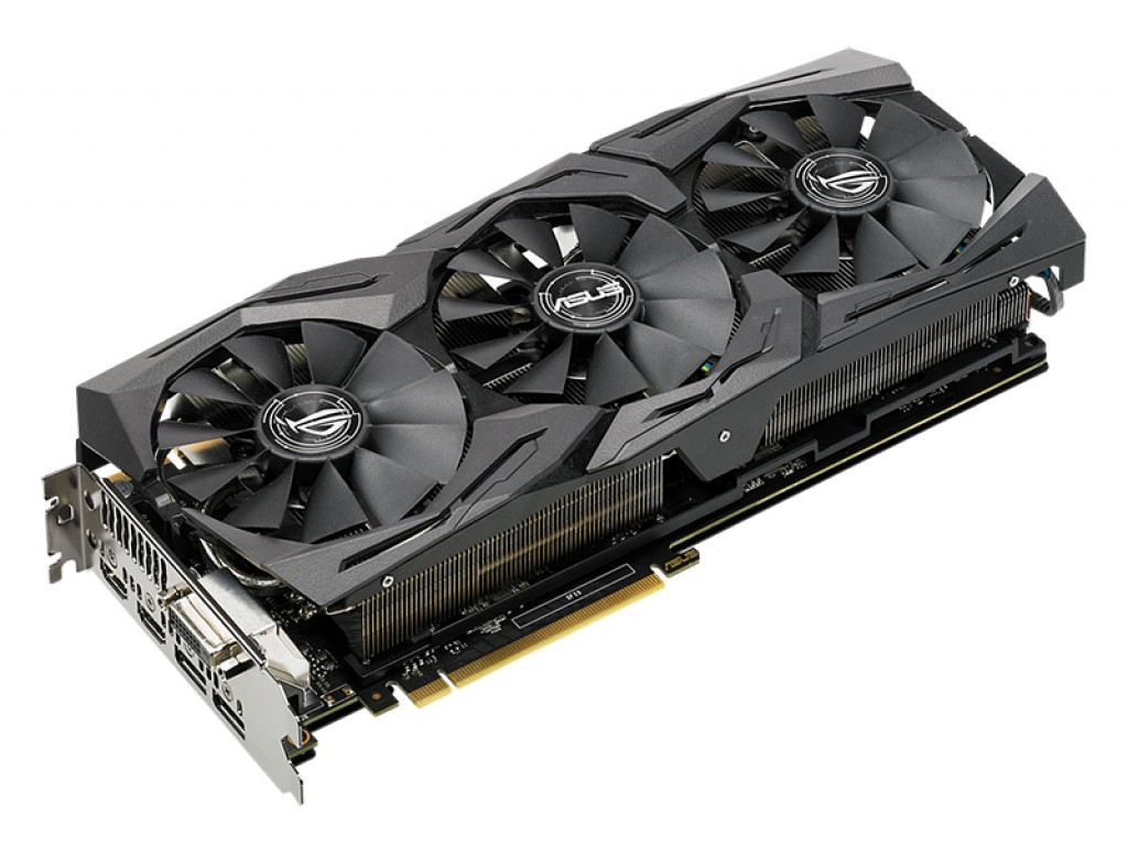 ASUS ROG-STRIX-GTX1080TI-O11G-GAMING GeForce GTX 1080 Ti 11GB 352-Bit GDDR5X HDCP Ready SLI Support Video Card