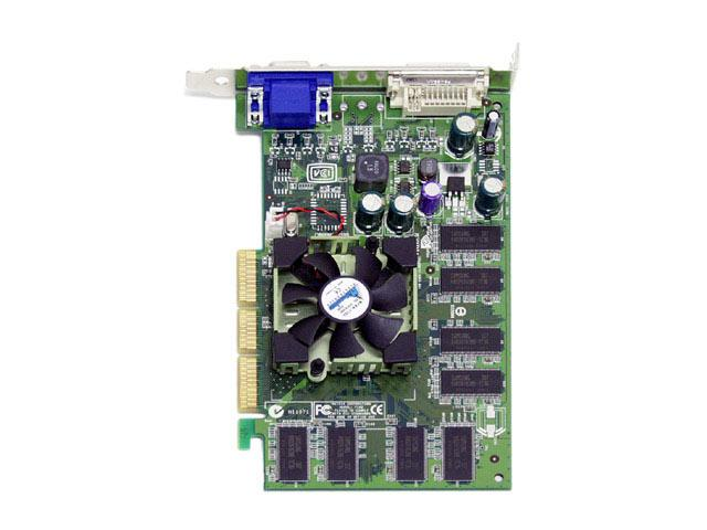 DELL P162  NVidia Quadro FX500 128MB AGP VGA DVI Video Card