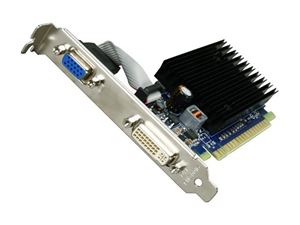Picture of BFG BFGE84512GS64E GeForce 8400 GS 512MB 64-bit DDR2 PCI Express 2.0 x16 HDCP Ready Video Card