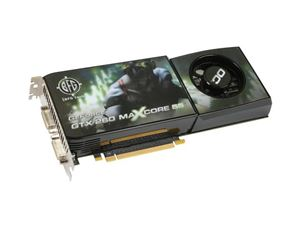 Picture of BFG 600-10897-0053-300 GeForce GTX 260 896MB 448-bit GDDR3 PCI Express 2.0 x16 HDCP Ready SLI Support Video Card