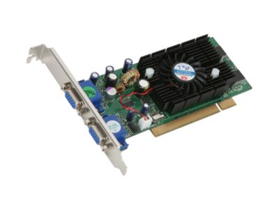JATON VIDEO 228PCI TWIN GeForce FX 5200 128MB 64-bit DDR PCI Video Card