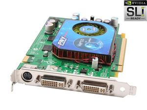 Picture of PNY VCG7600GXPB GeForce 7600GT 256MB 128-bit GDDR3 PCI Express x16 SLI Support Video Card