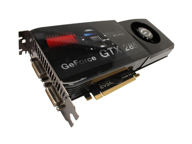 EVGA 01G P3 1181 AR GeForce GTX 285 Superclocked Edition 1GB 512-bit GDDR3 PCI Express 2.0 x16 SLI Supported Video Card