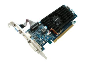 Picture of GIGABYTE GV N210D3 512I GeForce 210 512MB 64-bit DDR3 PCI Express 2.0 x16 HDCP Ready Low Profile Ready Video Card