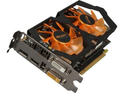 ZOTAC ZT7040210P GeForce GTX 760 2GB 256-bit GDDR5 PCI Express 3.0 SLI Support Video Card