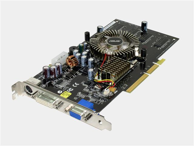 ASUS N6600/TD/128 GeForce 6600 128MB 128-bit DDR AGP 4X/8X Video Card