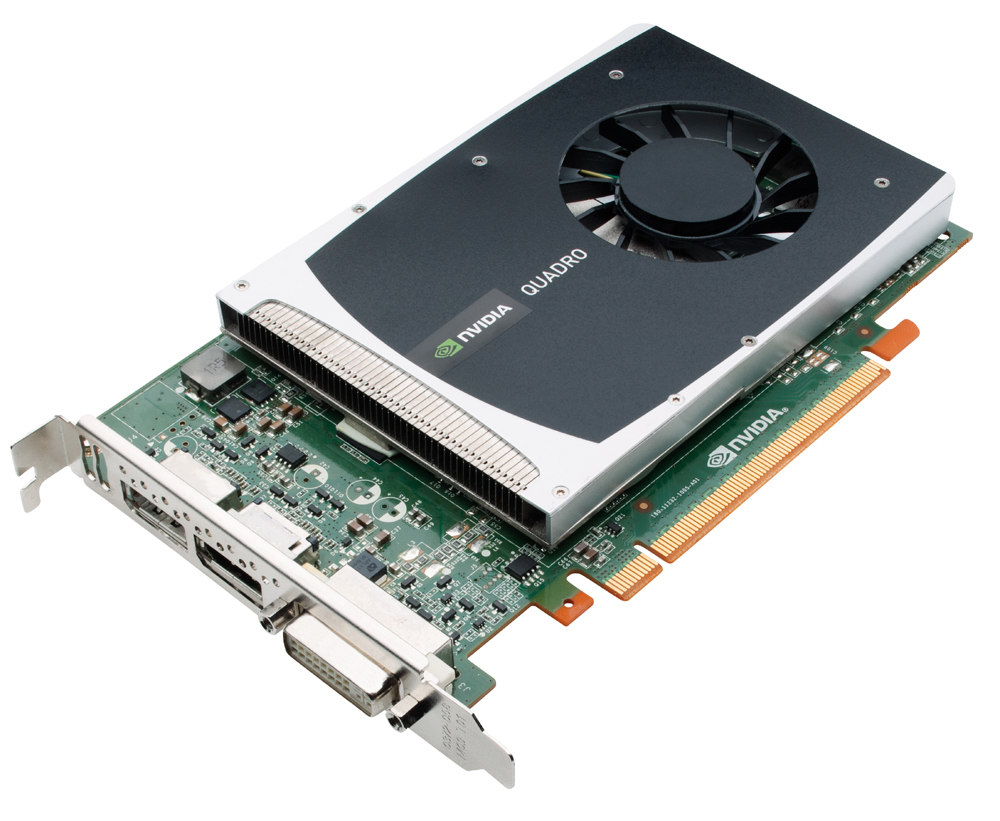 NVIDIA 699-51232-0500-200 Quadro 2000 1GB 128-bit GDDR5 PCI Express 2.0 x16 Workstation Video Card