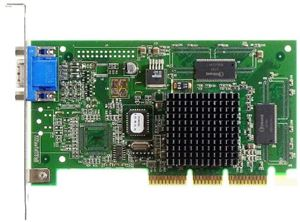 Picture of IBM 009-0000 Riva TNT2 Mod 64 AGP 16MB Video Card