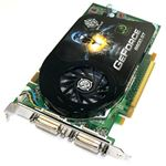 Picture of BFG BFGE981024GTGE GeForce 9800 GT 1GB 256-bit GDDR3 PCI Express 2.0 x16 HDCP Ready SLI Support Video Card