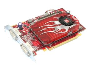 Picture of APPLE 102B3610110 ATI RADEON HD 2600 XT 256MB PCI-E X16 DUAL DVI TV Out HIGH PROFILE VIDEO CARD