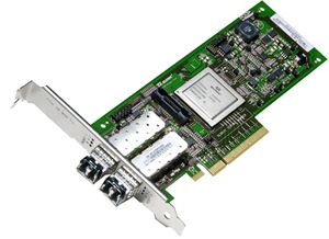 Picture of ORACLE SG-XPCIE2FC-QF8-Z QLE2562 dual port 8Gb Fibre Channel-to-PCI Express adapter 8Gbps PCI-Express 2 x LC
