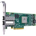 Picture of IBM QLE4062C-IBMX QLE4062C iSCSI Host Bus Adapter 8Gbps PCI Express x4 2.50 GHz 2 x RJ-45 iSCSI