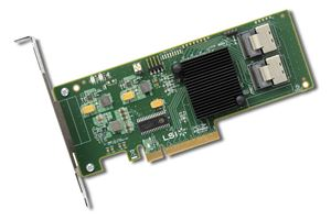 Picture of IBM 00AE807 9211-8i Internal SATA/SAS 6Gb/s PCI-Express 2.0 RAID Controller Card Single