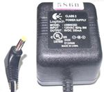 Picture of LOGITECH U090035D 9VDC 350mA  Power Adapter