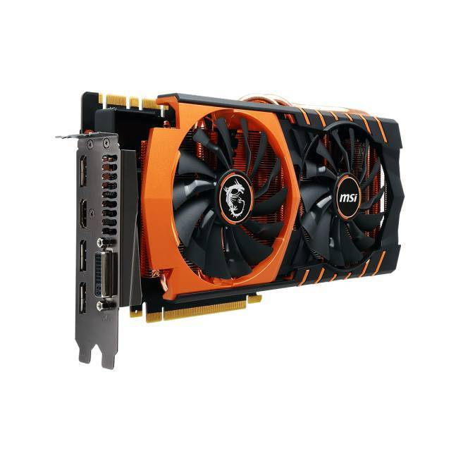 MSI GTX 980TI GAMING 6G GOLDEN EDITION NVIDIA GEFORCE GTX 980 TI 6GB GDDR5 DVI/HDMI/3DISPLAYPORT PCI-E VIDEO CARD.