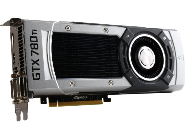 EVGA 03G-P4-2881 GeForce GTX 780 Ti 3GB 384-Bit GDDR5 PCI Express 3.0 SLI Support Video Card