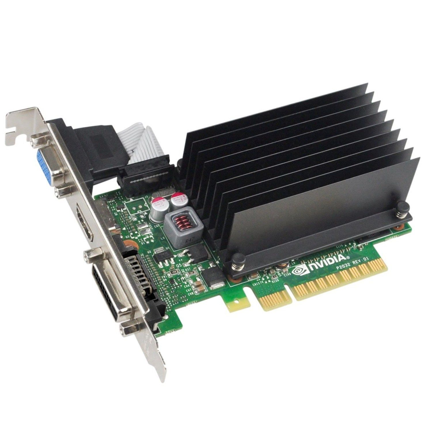 EVGA 01GP32722KR NVIDIA GEFORCE GT 720 1GB DDR3 DVI PCI Express 2.0 x 8 HDM VGA GRAPHICS CARDS.